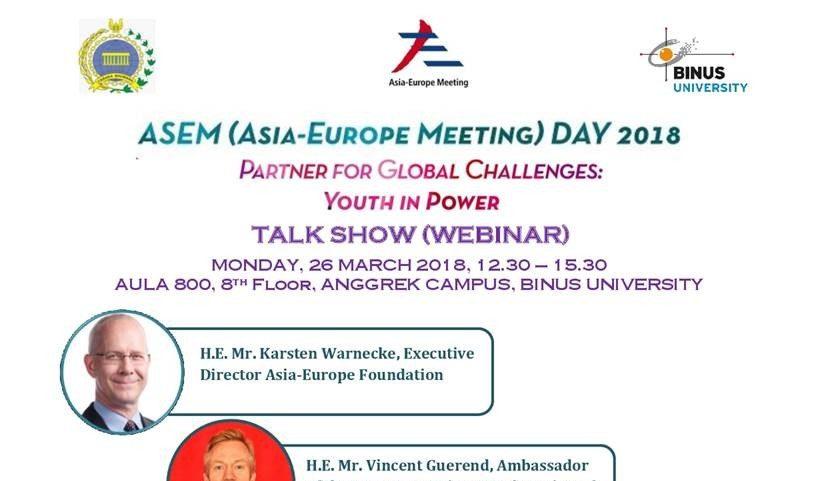 ASEM Day 2018 Talkshow