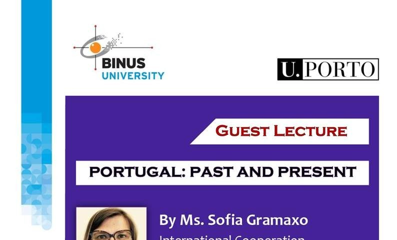 [International Guest Lecture] – Portugal:  Past and Present