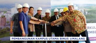 Melanjuti Komitmen BINUS @MALANG untuk Pendidikan Berkualitas di Indonesia Timur