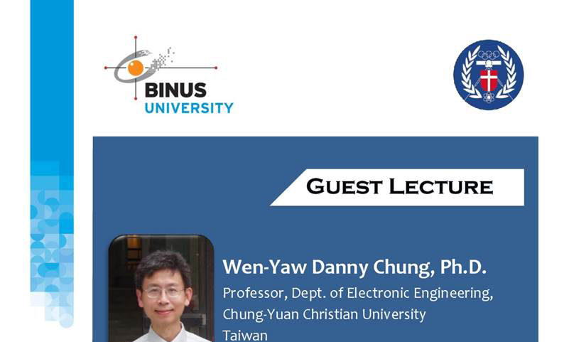 Guest Lecture – Taiwan Experience on Entrepreneurship and Semiconductor Industry