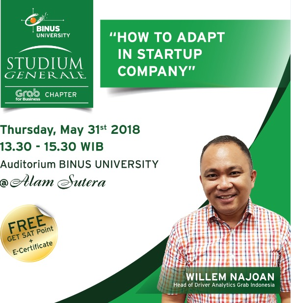 Studium Generale - How To Adapt in Start Up Company
