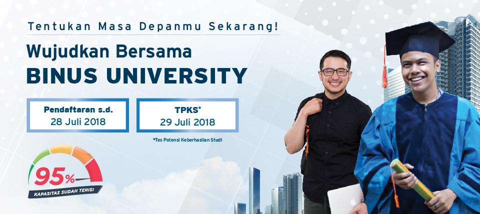 Kontribusi 105.000 lulusan BINUS untuk Nusantara
