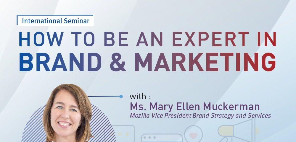 International Seminar – How to Be an Expert in Brand & Marketing