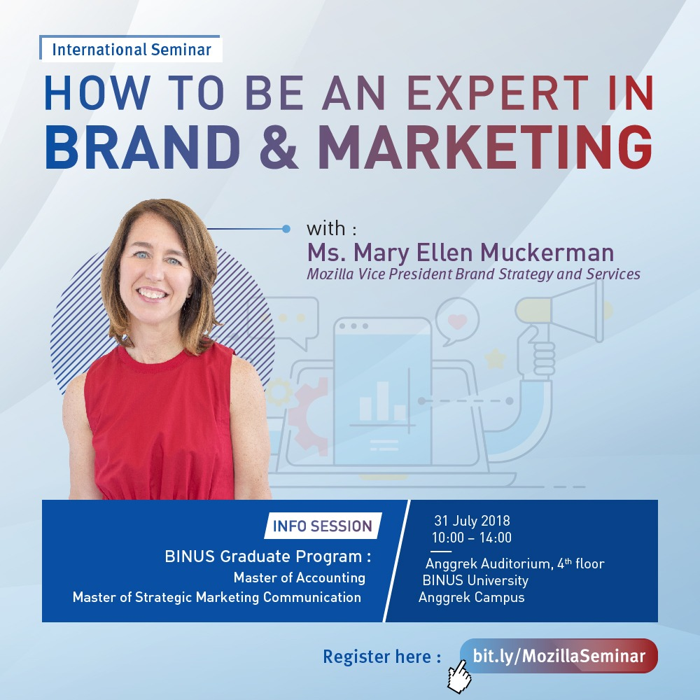 International Seminar - How to Be an Expert in Brand & Marketing
