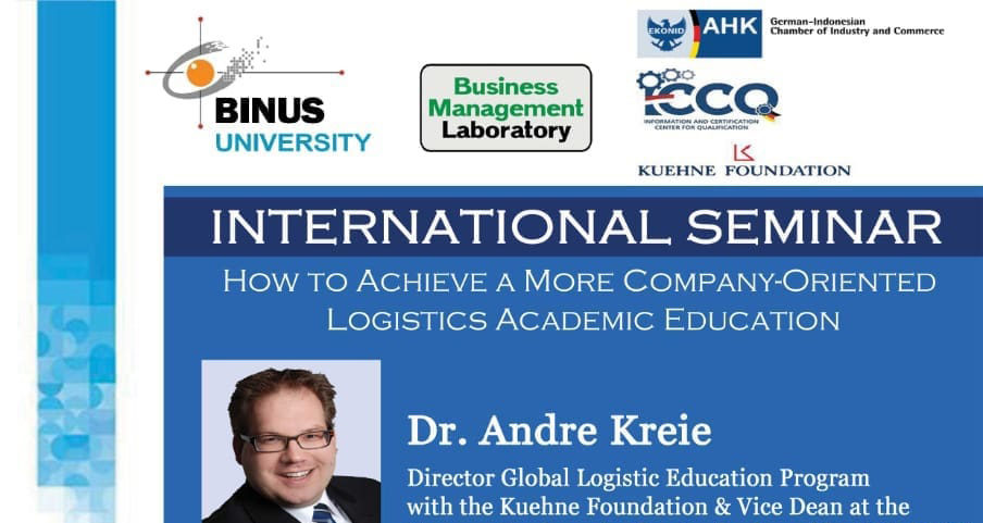 International Seminar – How To Achieve a More Company Oriented Logistics Academic Education