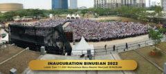 LEBIH DARI 11.000 MAHASISWA BARU RESMI MENJADI BINUSIAN