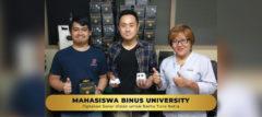 Mahasiswa BINUS Ciptakan Sonar Vision Untuk Bantu Tuna Netra