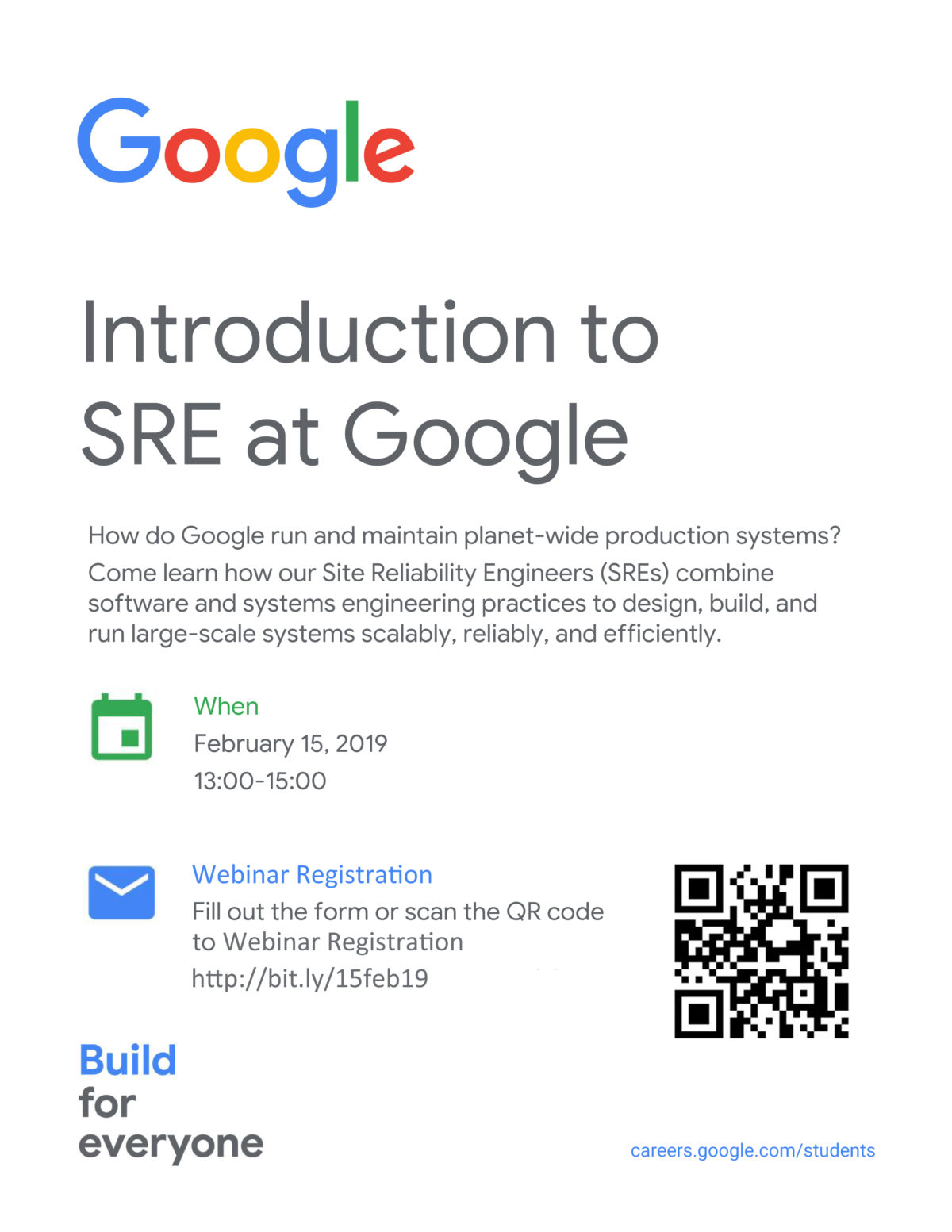 Introduction to SRE at GOOGLE