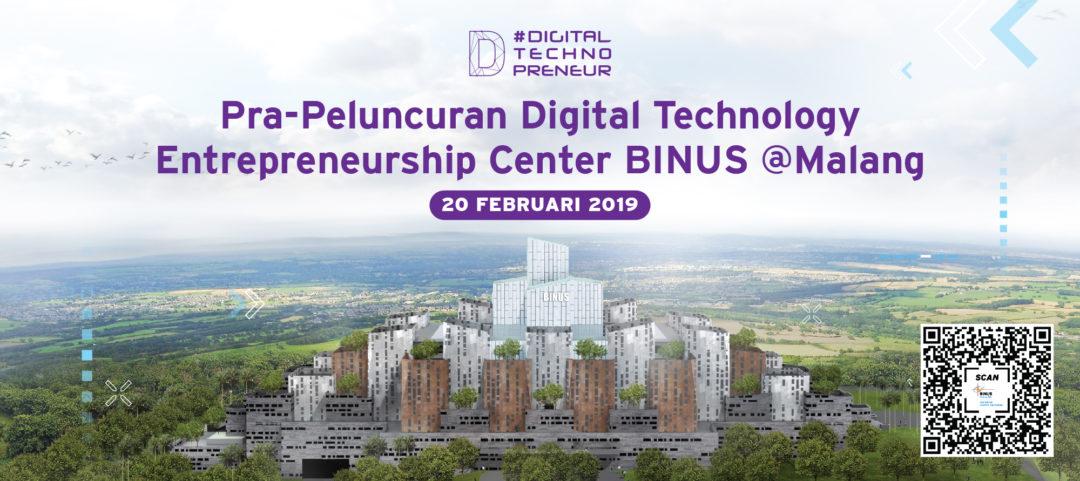 Digital Technopreneur BINUS @Malang
