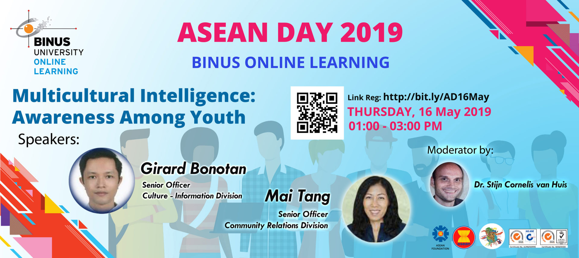 ASEAN DAY 2019 – Multicultural Intelligence: Awareness Among Youth Gallery