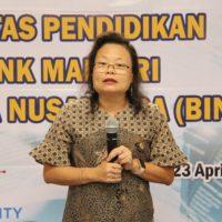 Wakil Rektor BINUS UNIVERSITY Bidang Entrepreneurship