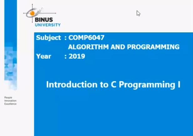 Workshop Algoritma dan Programming 1 Gallery