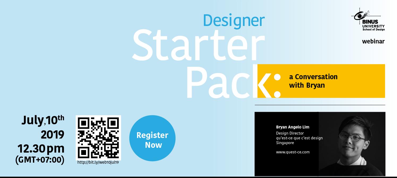 Designer Starter Pack Gallery