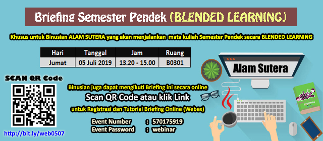 Briefing SP Blended Learning for Student (Batch Alam Sutera) Gallery