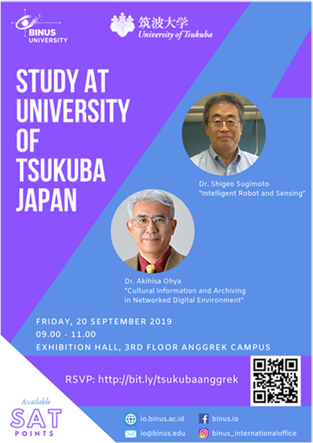 Study at University of Tsukuba Japan Gallery