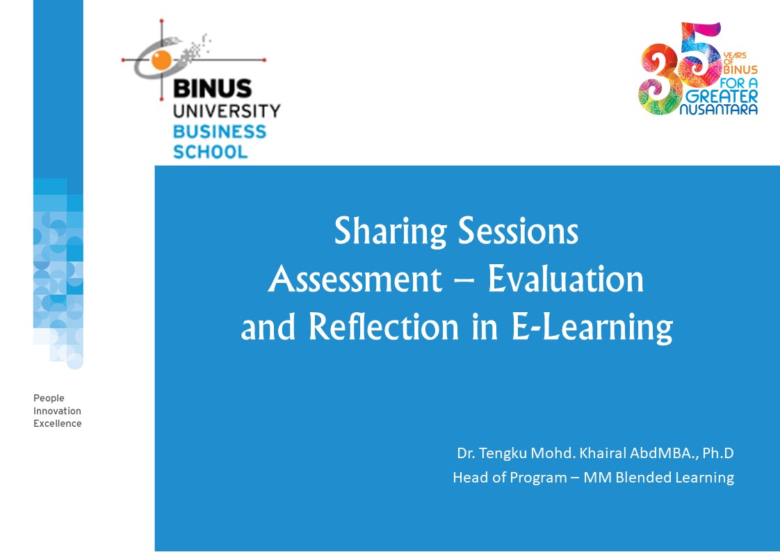 Evaluating & Reflecting the Online Teaching-Learning Process