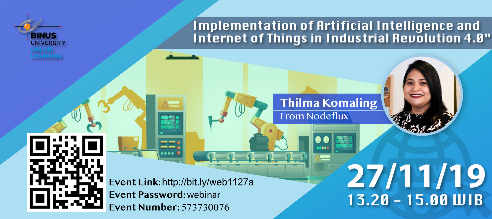 Implementation of Artificial Intelligence and Internet of Things in Industrial Revolution 4.0