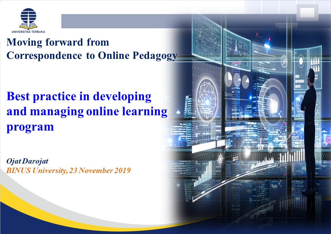 Best Practices in Developing & Delivering Online Learning Material