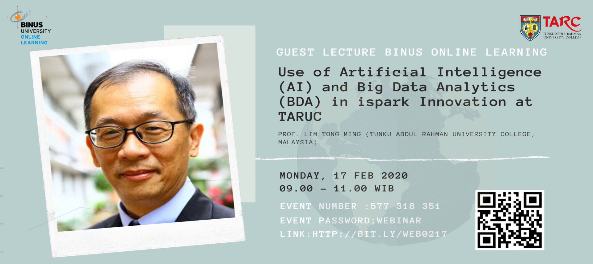 Guest Lecture Use of AI and BDA in ispark Innovation at TARUC Gallery