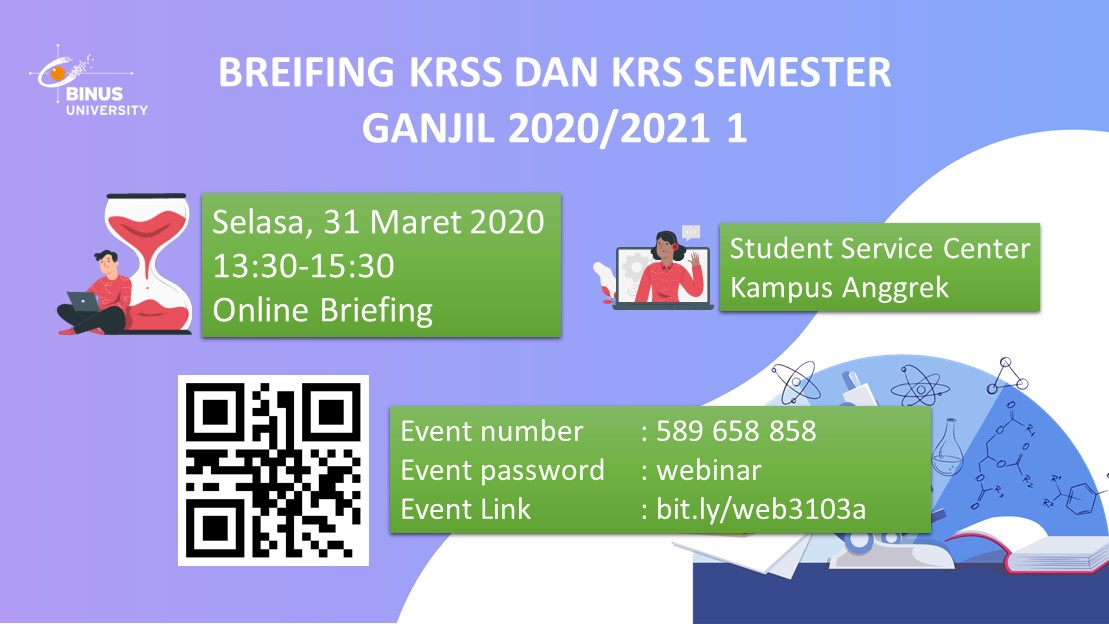 Briefing KRSS dan KRS Semester Ganjil 2020/2021 1