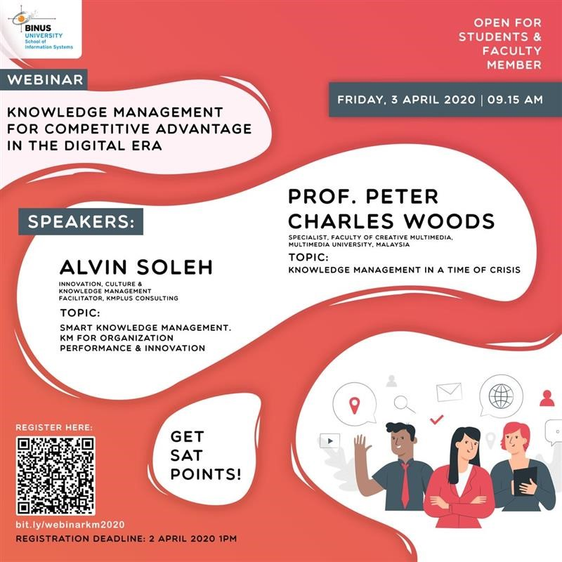 Knowledge Management for Competitive Advantage in The Digital Era