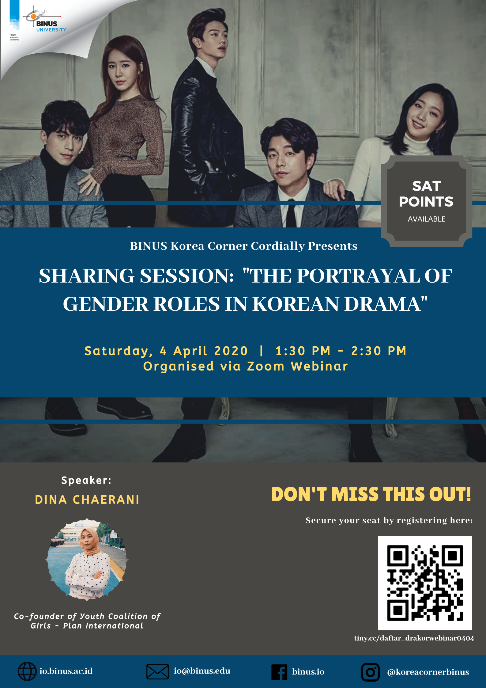 Sharing Session The Portrayal of Gender Roles in Korean Drama