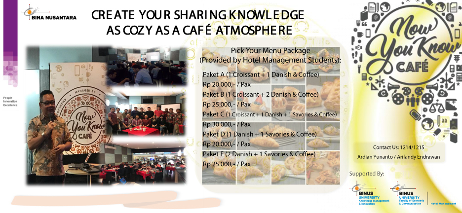 Now You Know Cafe