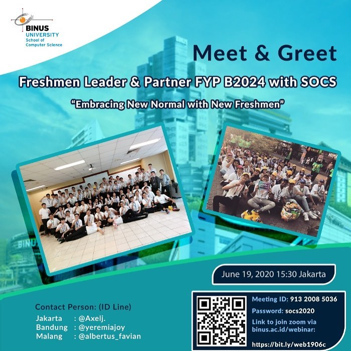 Meet & Greet FYP for FL – FP SoCS