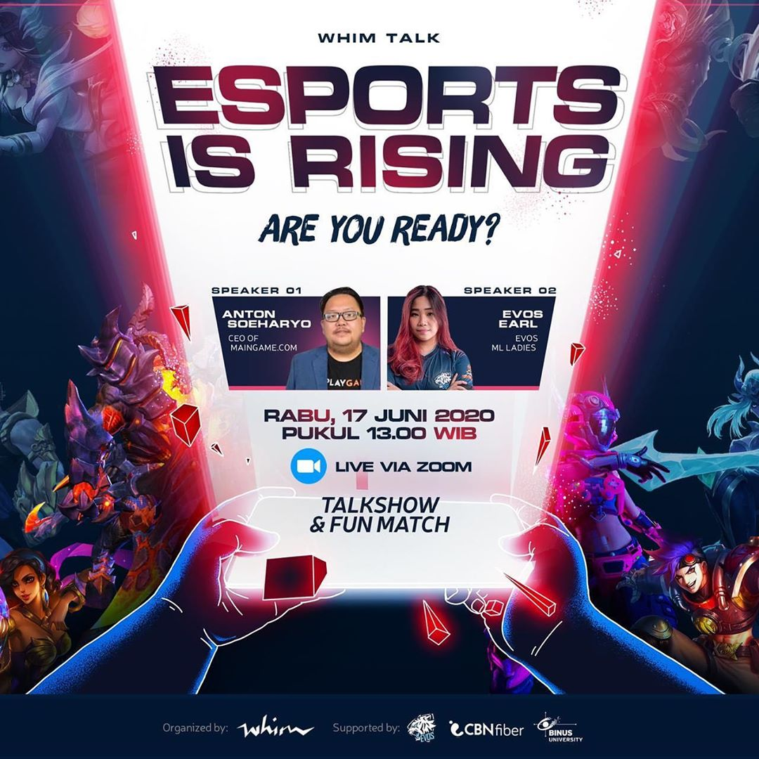 WHIM TALK: The Future of Indonesian Esports