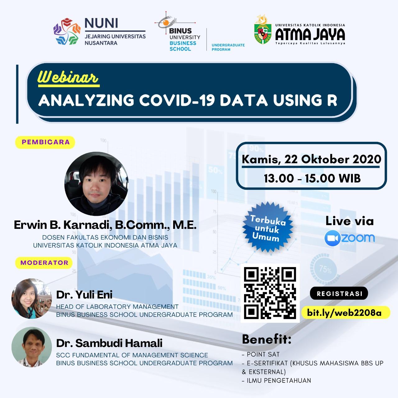 Webinar Exchange dengan Unika Atma Jaya (hosted by BBS UP)