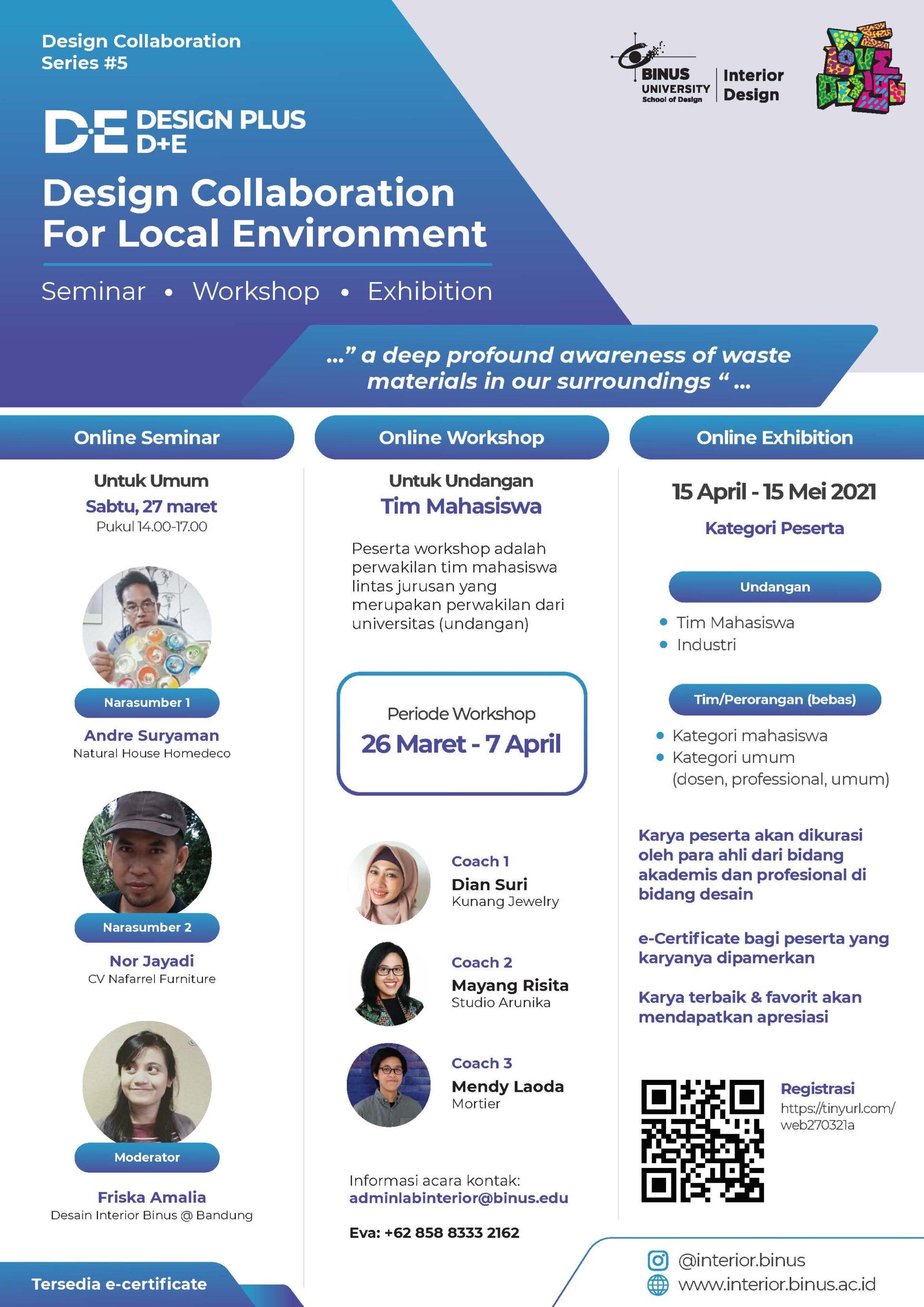 D+E DESIGN PLUS - Design Collaboration For Local Environment