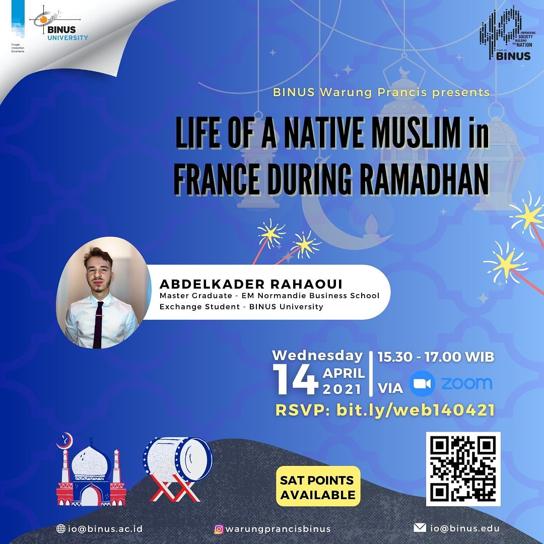 Life of a Native Muslim in France during Ramadan