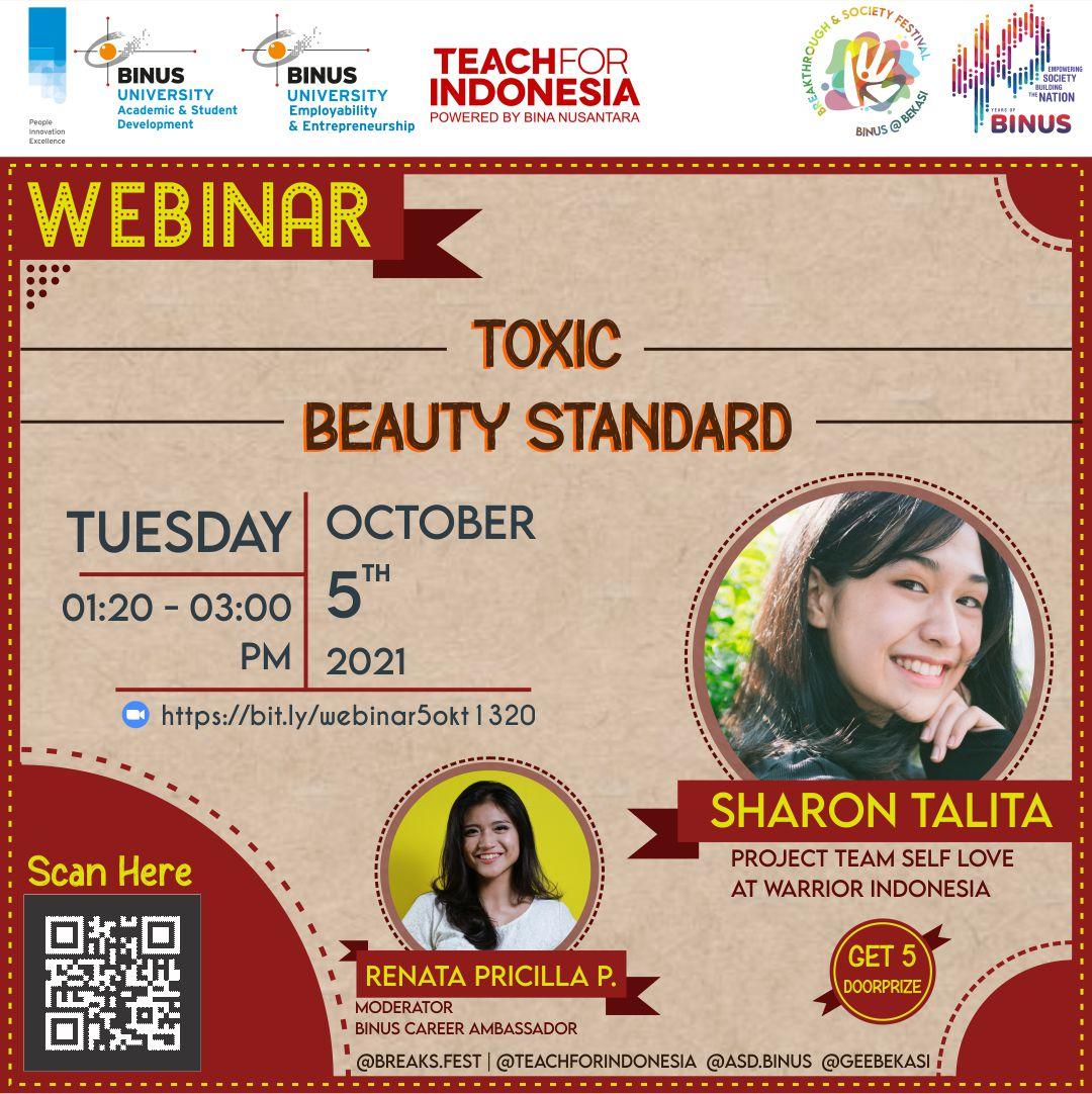 Webinar Toxic Beauty Standard